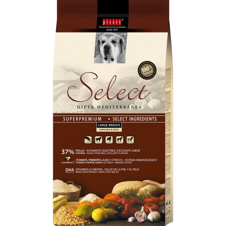 Picart Select Dog Adult Large Pollo y Arroz 15kg